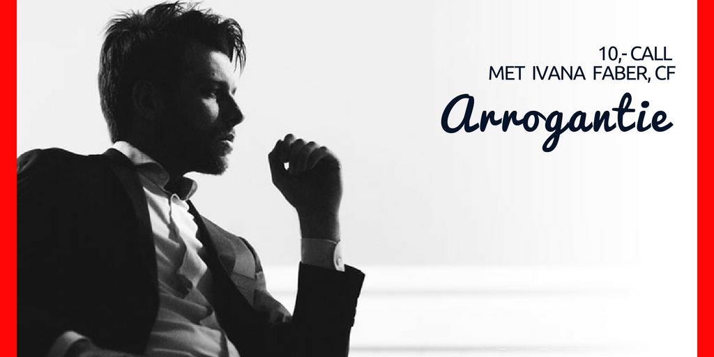 €10,- calls – Arrogantie