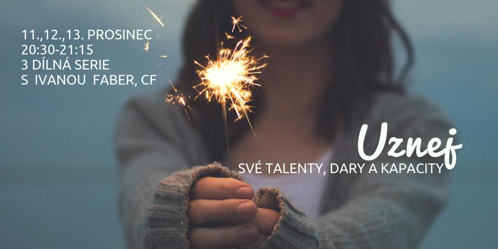 Uznej své dary a talenty